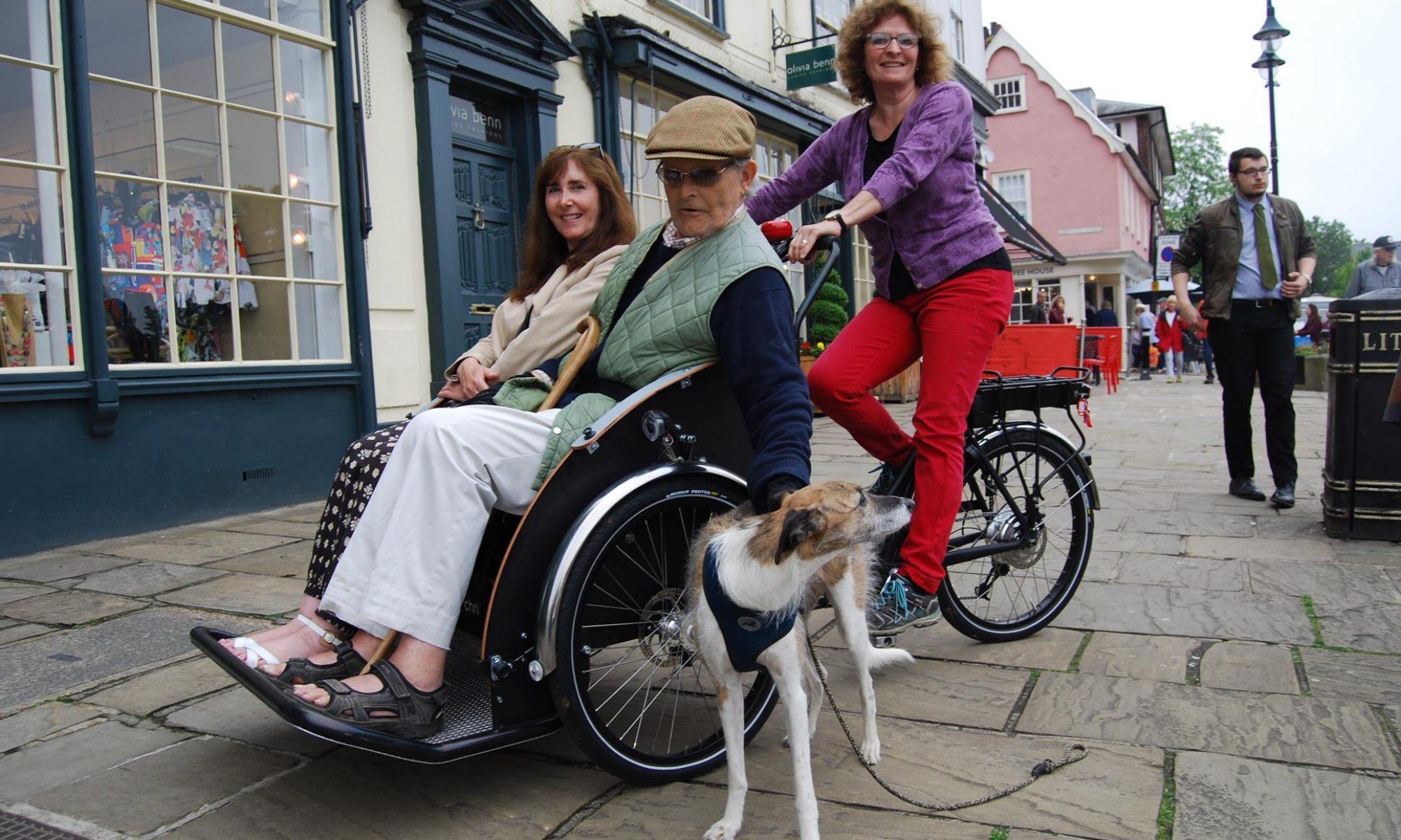 Bury St Edmunds Rickshaw